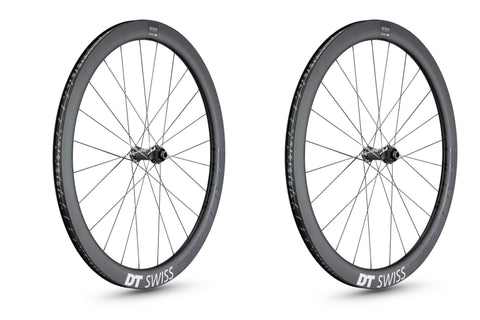 DT Swiss ERC 1400 Spline 47 Carbon Endurance Road Disc Wheels - Moonglu