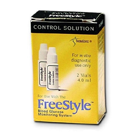 Blood Glucose Monitoring System - Control FreeStyle Blood Glucose