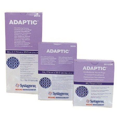 Wound Dressing - Non Adherent Dressing Adaptic 3 X 3 Inch Sterile