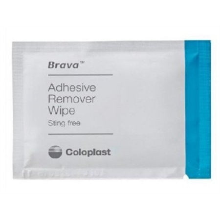 Adhesive Remover - Coloplast Brava Wipes, Alcohol Free