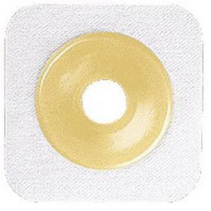 "ConvaTec SUR-FIT® Natura® Stomahesive® Up to 2-1/4"" Cut-to-Fit Skin Barrier, 2-3/4"" Flange, White"