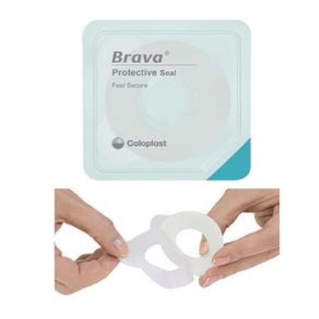 "Ostomy Barrier Ring - Coloplast Brava Protective Seal, 3/4"" Starter Hole, 18mm, 2.5mm Thin"