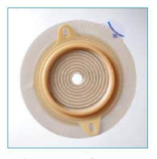 Ostomy Barrier Assura® Long Lasting Wear 2-3/8 Inch Flange Cut-To-Fit, 3/8-2-1/8 Inch Stoma