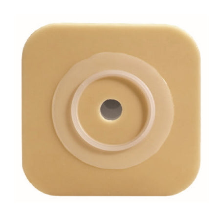 "Ostomy Barrier - ConvaTec SUR-FIT Natura Two-Piece Durahesive Skin Barrier, Cut-to-Fit, 2-3/4"" Flange, Tape Collar, 5"" x 5"""