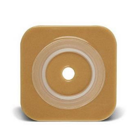 "Ostomy Skin Barrier - ConvaTec SUR-FIT Natura Stomahesive Skin Barrier, Up to 1-3/4"" Cut-to-Fit, 2-1/4"" Flange, 4"" x 4"""