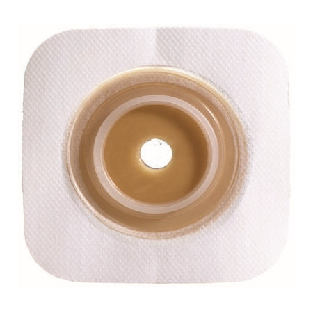 Ostomy Barrier - Colostomy Barrier Sur-Fit Natura Pre-Cut, Standard Wear Stomahesive 1-3/4 Inch Flange 1-1/4 Inch Stoma
