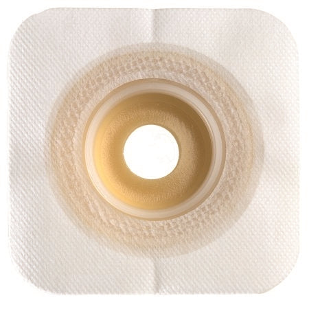 Ostomy Barrier - Colostomy Barrier Sur-Fit Natura Mold to Fit, Extended Wear Durahesive Flange