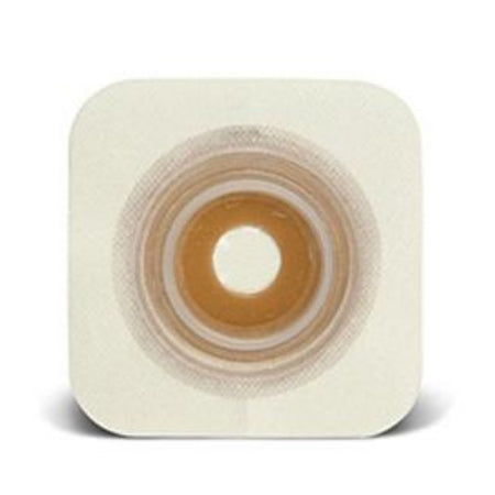 "Ostomy Barrier - ConvaTec SUR-FIT Natura Stomahesive Skin Barrier, 1-1/4"" to 1-3/4"" Mold-to-Fit, 2-1/4"" Flange"