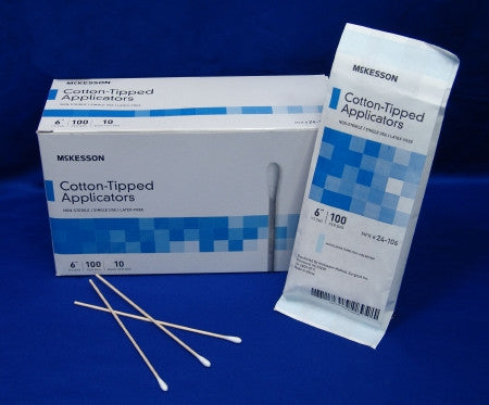 Cotton Swabsticks Non Sterile or Sterile Packaging