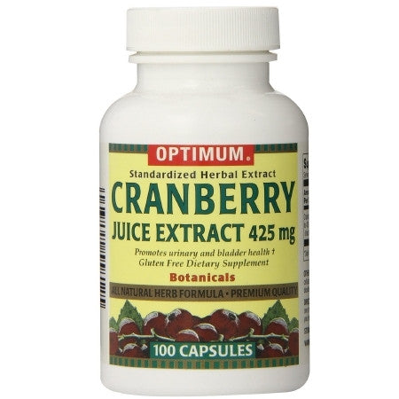 Cranberry Supplement - 425 mg Strength Capsules