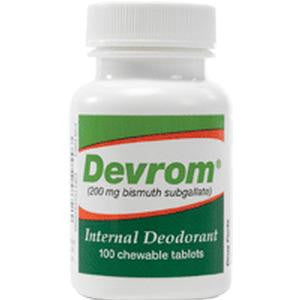 Devrom® Chewable Tablets, Internal Deodorant by Parthenon Co Inc