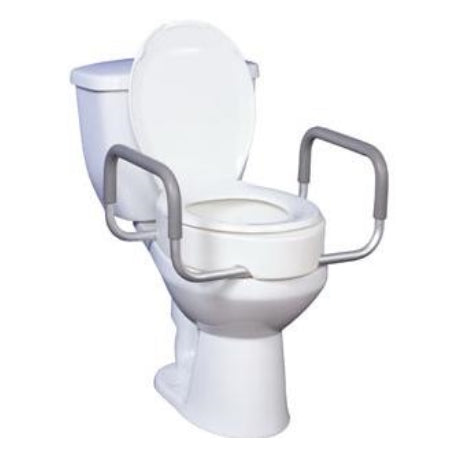 Raised Toilet Seat w/Arms