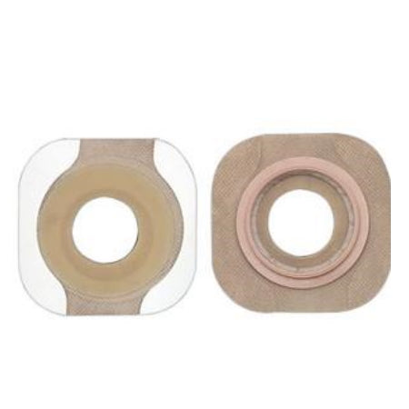 "Ostomy Barrier - Hollister New Image FlexWear 1-3/8"" Pre-Cut Flat Skin Barrier, 2-1/4"" Flange"