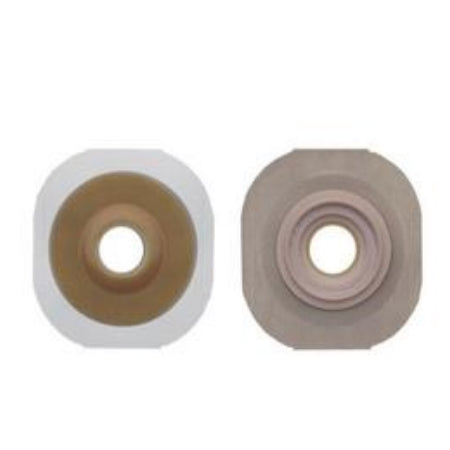 "Ostomy Barrier - Hollister New Image Convex FlexTend Flange,Tape Border, Pre-Cut, 3/4"" Opening, 1-3/4"" Flange"