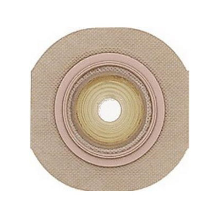Ostomy Barrier - Skin Barrier New Image™ FormaFlex Shape to Fit, Extended Wear Tape 2-3/4 Inch Blue Code Up to 2-1/4 Inch Stoma
