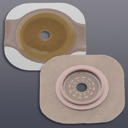 Colostomy Barrier New Image™ Flextend™ Cut-to-Fit, Extended Wear Tape 2-1/4 Inch Flange Red Code Hydrocolloid Cut-to-fit, Up to 1-3/4 Inch Stoma