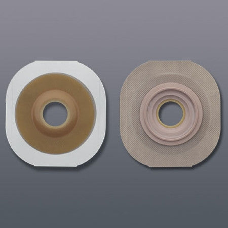 Colostomy Barrier FlexTend™ Extended Wear Tape 1-3/4 Inch Flange Green Code Hydrocolloid 1 Inch Stoma