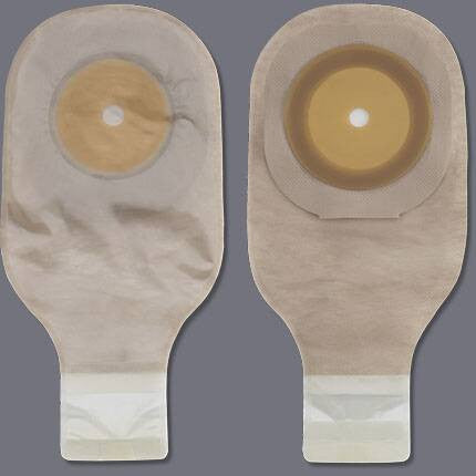 Colostomy Pouch Premier™ One-Piece System 12 Inch Length Up to 2-1/2 Inch Stoma Drainable Trim To Fit