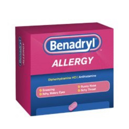 Allergy Relief Benadryl® 25 mg Strength Tablet