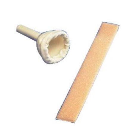 Male External Catheter - Non Adhesive with Foam Tape by Kendall
