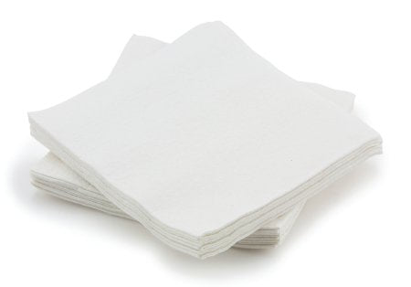 Washcloth - Dry Washcloth 13 X 13 Inch White Disposable