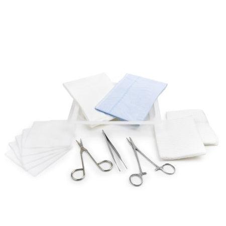 Laceration Tray - Laceration Tray with instruments