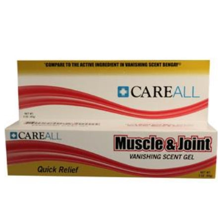 Pain Relief - Muscle and Joint 2.5% Strength Menthol Gel 3 oz.