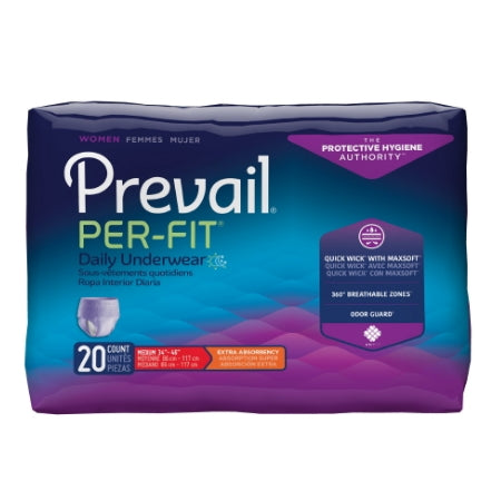 Adult Briefs Women - Prevail Per-Fit Female Adult Absorbent Underwear Women Pull Up Moderate Absorbency