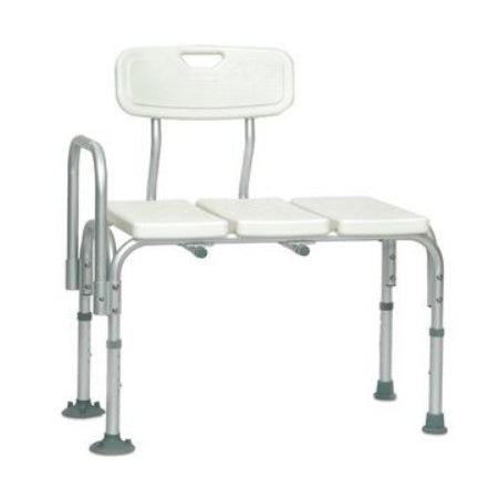 "Transfer Bench - PMI ProBasics Transfer Bench, 25"" Seat, Seat Depth 16"" 300 lb Capacity, 28.5"" Depth 17.5"""