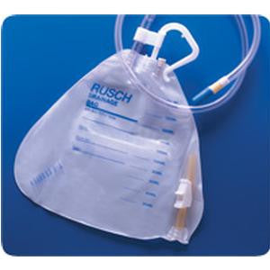 Urinary Drainage Bag with Anti-reflux Valve 2000mL, Sterile, Latex