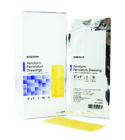 Xeroform Petrolatum Dressing Gauze Bismuth Tribromophenate Sterile