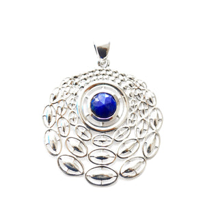 Linked Circular Pendant