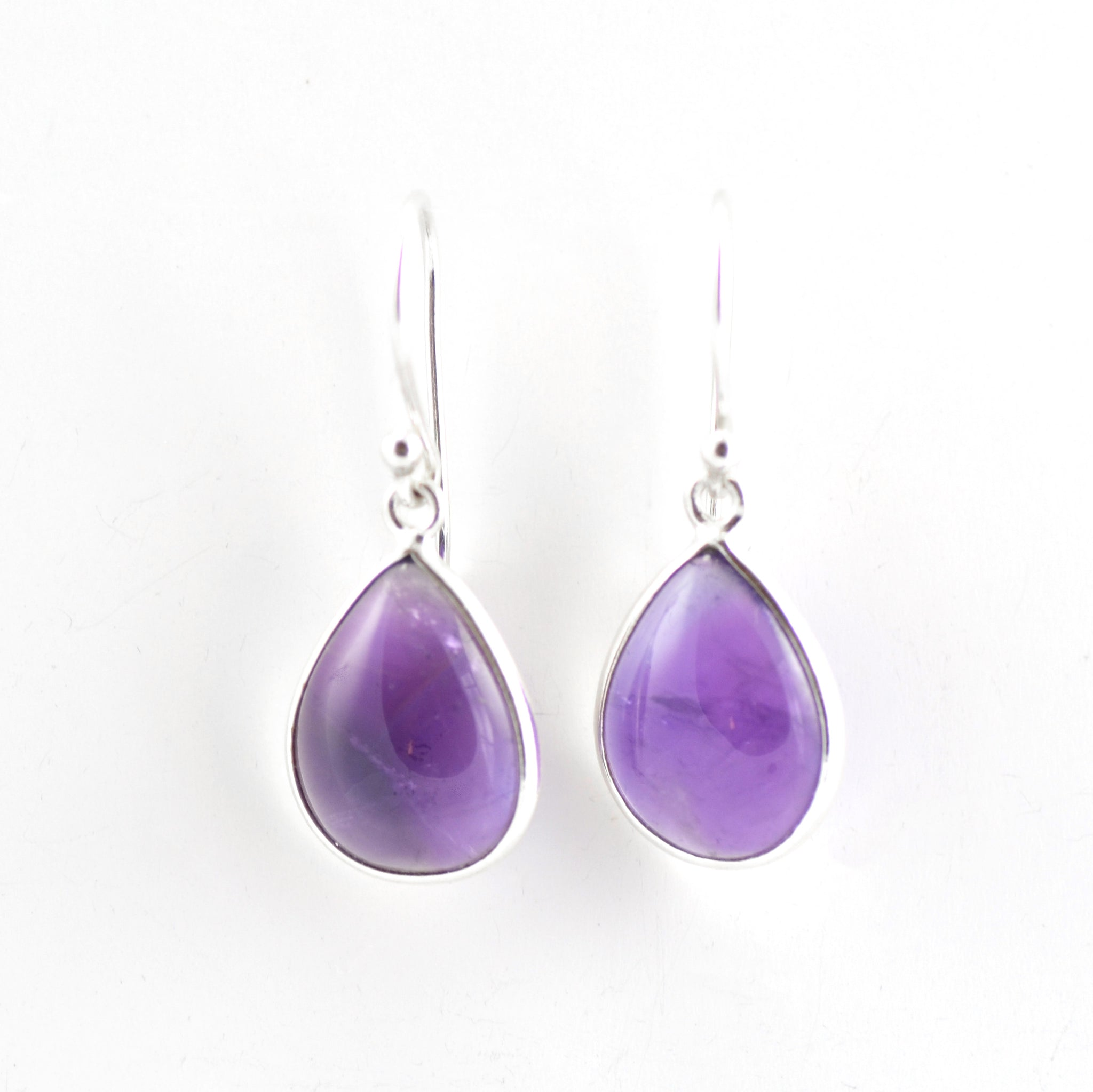 Classic Amethyst teardrop Earrings