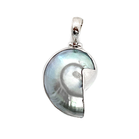 Nautilus Mother of Pearl Pendant