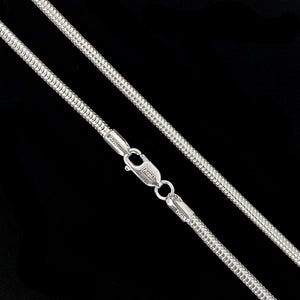 Sterling Silver 1mm Snake Chain