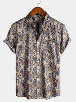 Men's Classic Holiday Cotton Shirt