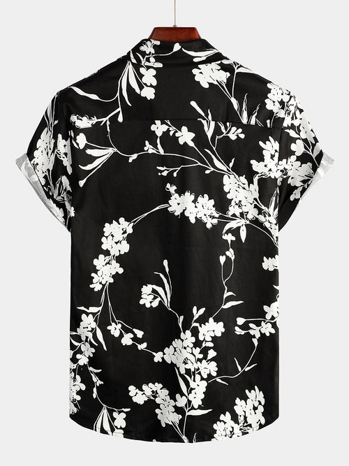 Men's Casual Tropical Holiday Shirt