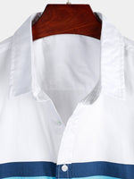 Men's Cotton Short Sleeve Casual Shirt