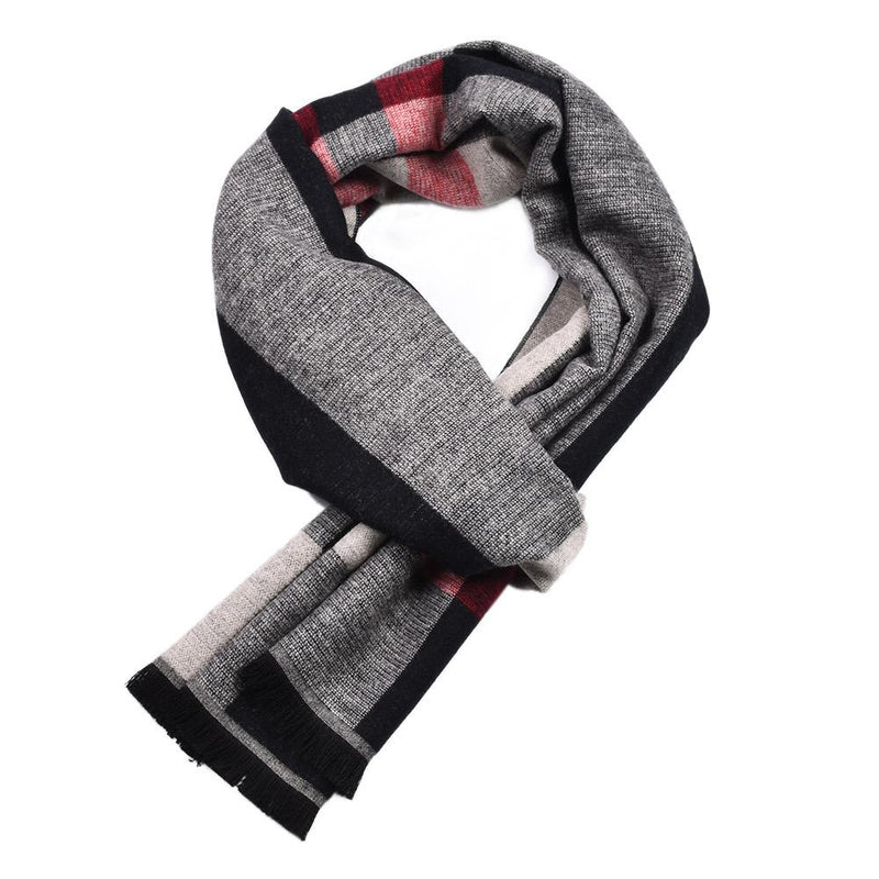 Men's Warm Classic Elegant Plaid Scarf
