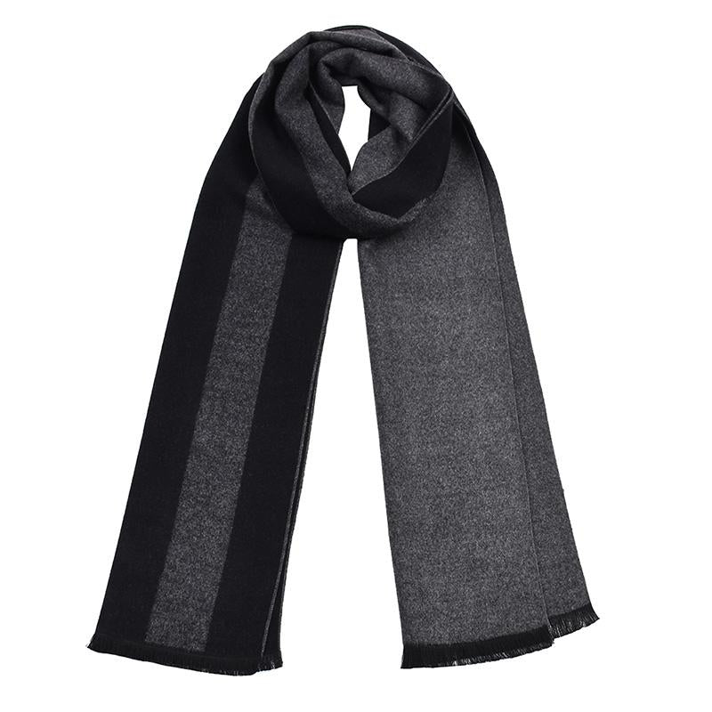 Men's Soft And Lightweight Warm Stripe Scarf