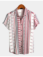 Men's Cotton Basic Printed Shirts