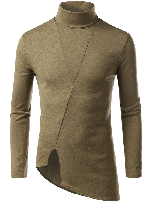 Men's Thermal Turtleneck Slim Fit Pullover Sweater