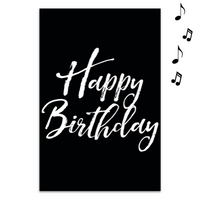 Endless Birthday Recordable With Glitter