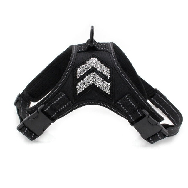 Pet's Market New Reflective Harness