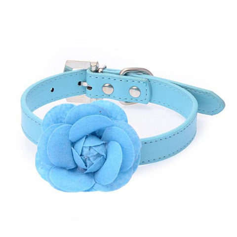 Pets Market Rose Flower Collar
