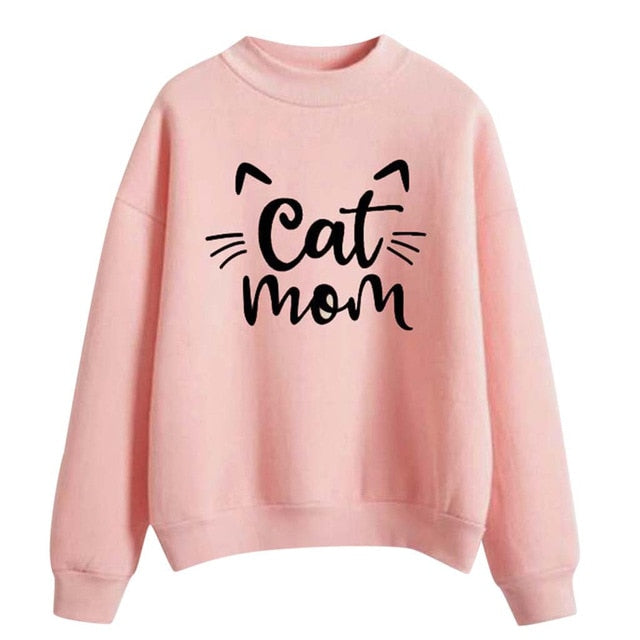 Cat Mom Sweatshirt
