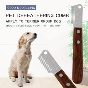 Pet's Market Hair Shedding Comb