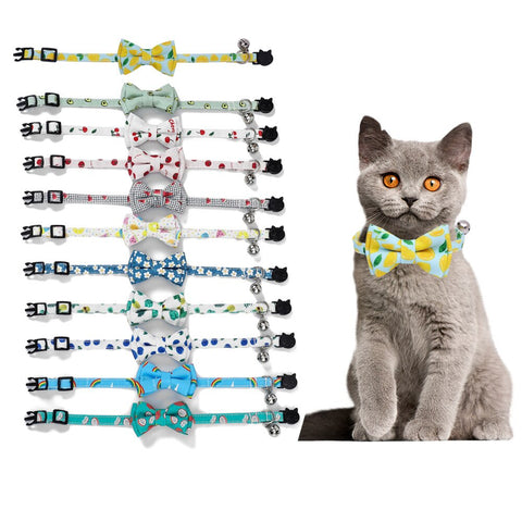 Pet's Market Cute Bow-ties With Bells(New Arrival)