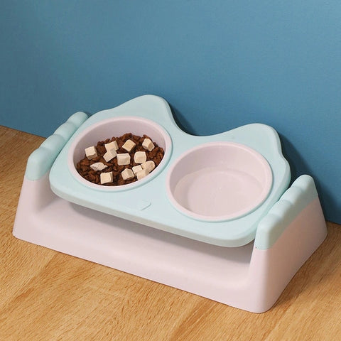 Double Round Pet Bowl