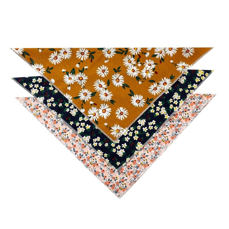 Pet's Market Flower Bandanna